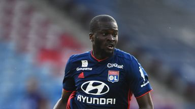 Tanguy Ndombele has arrived in Tottenham to undergo a medical