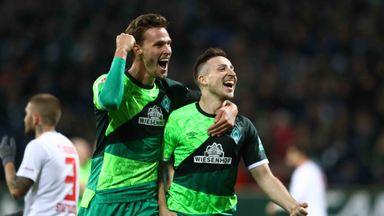 Werder Bremen beat Augsburg 4-0
