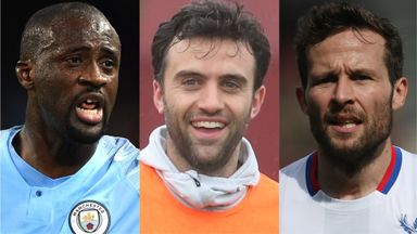 Yaya Toure, Giuseppe Rossi and Yohan Cabaye are all free agents