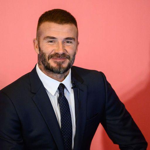 Man Utd links help Beckham in MLS