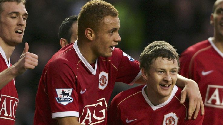 Ole Gunnar Solskjaer and Wes Brown spent 11 years together at Manchester United