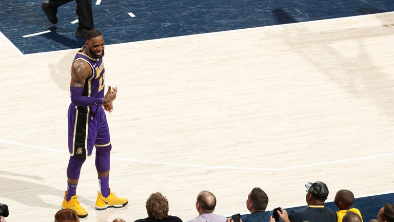 LeBron James hears it from the Indiana fans during the Lakers' embarrassing week 17 loss to the Pacers