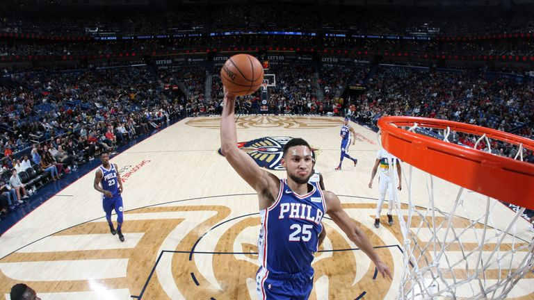 86a88e5727b7 Ben Simmons and Donovan Mitchell named NBA Players of the Week