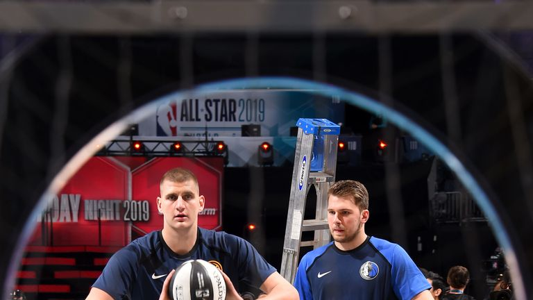 Nikola Jokic relishing first NBA All-Star Game  | NBA News |