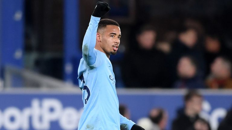 City returned to the top of the Premier League with a 2-0 win at Everton on Wednesday