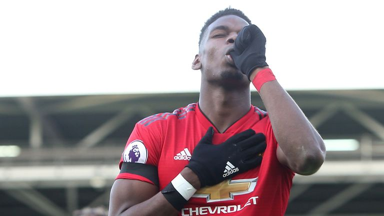 Highlights from Manchester United's 3-0 win over Fulham in the Premier League