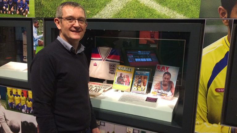 Alan Quick has helped keep Fashanu's memory alive through his collection of mementos