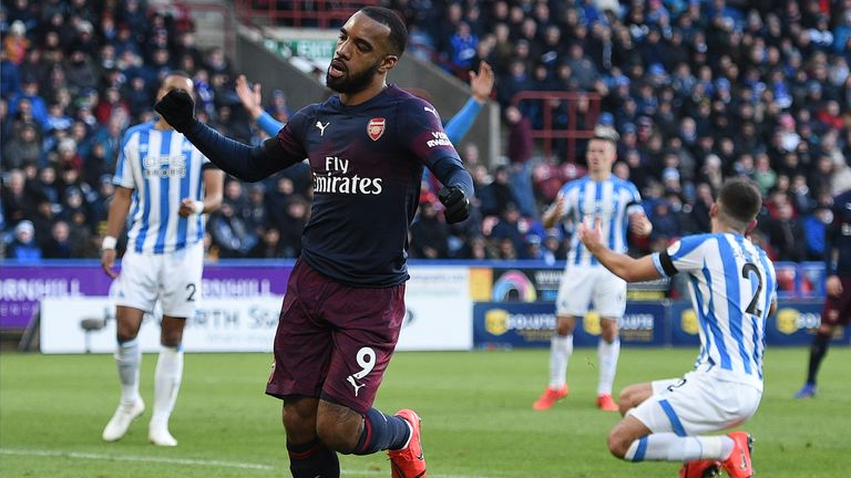 Alexandre Lacazette should be favoured over Pierre-Emerick Aubameyang when Arsenal play on Monday