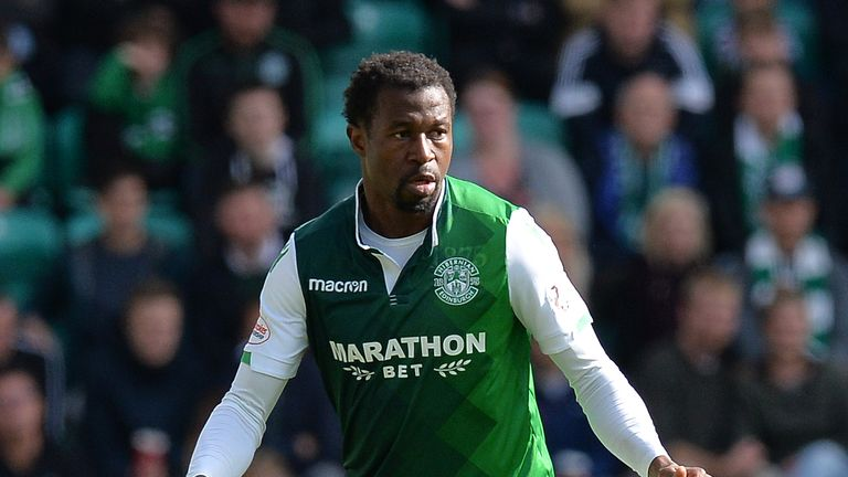 Efe Ambrose left Hibernian in January