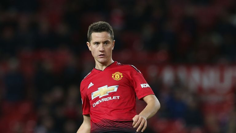 Ander Herrera has played in eight of 10 matches since Ole Gunnar Solskjaer became Manchester United's caretaker manager