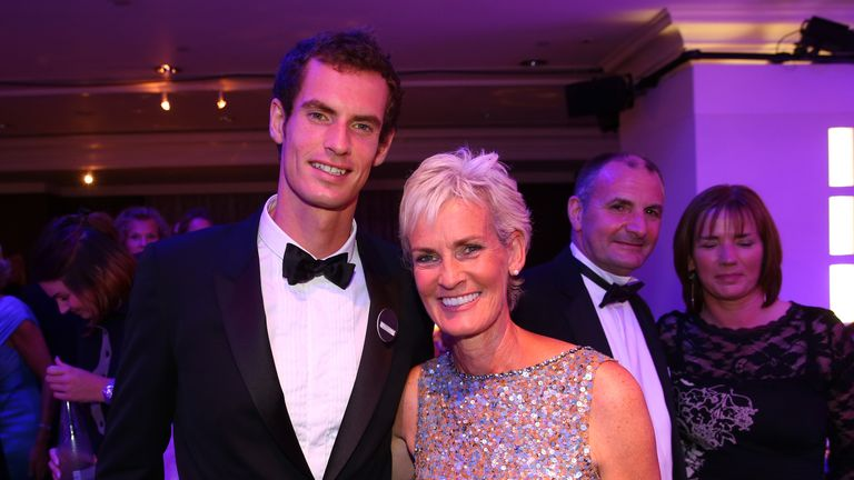Image result for judy and andy murray