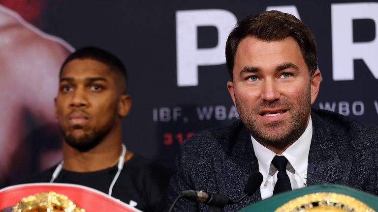 Eddie Hearn has been attempting to agree a deal with Wilder's camp for several months