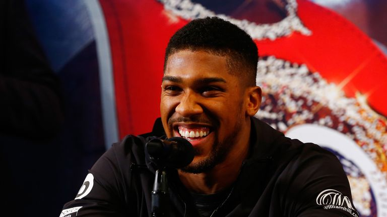 Anthony Joshua will defend his titles against Jarrell Miller on June 1