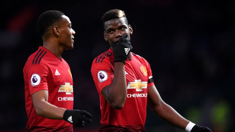 Anthony Martial has backed his club and international team-mate Paul Pogba to bring success to Man Utd