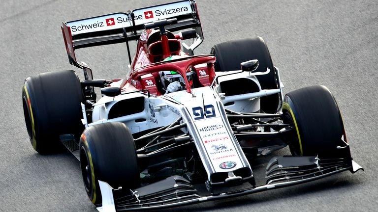 Alfa Romeo continued their impressive start to testing on Tuesday