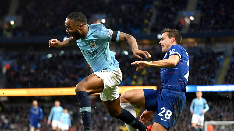 Azpilicueta conceded the penalty which led to City's fifth goal