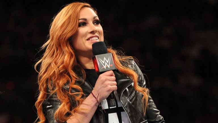 Becky Lynch remains suspended by WWE but has been invited to appear on tonight's Raw