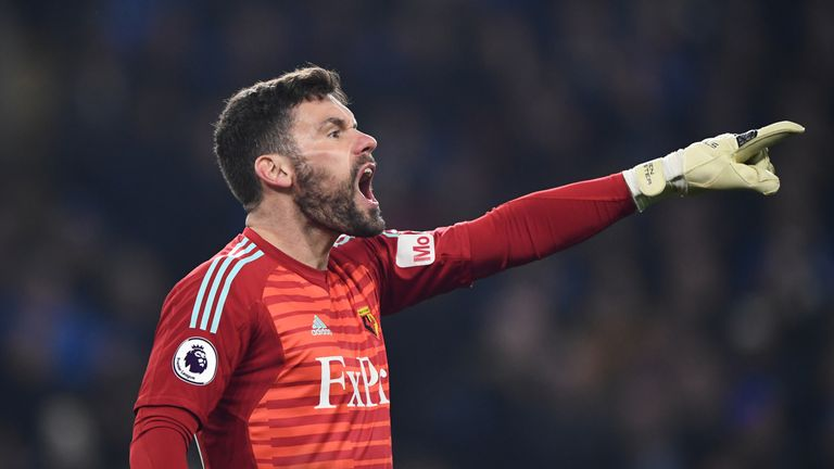 Ben Foster missed out on a third consecutive clean sheet in the Premier League