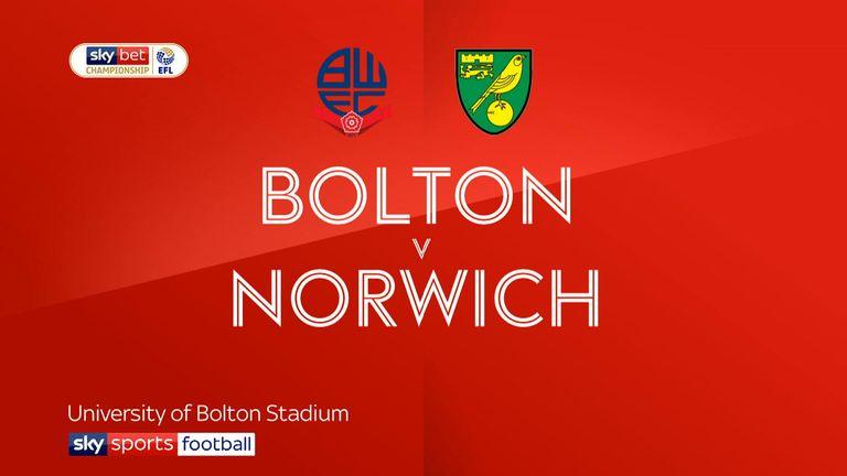 Bolton v Norwich