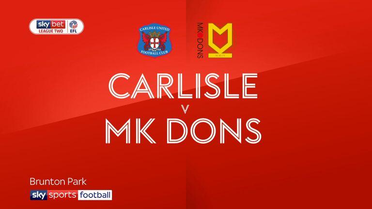 Match Preview - Carlisle vs MK Dons | 16 Feb 2019