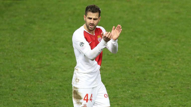 Cesc Fabregas scored the winning goal for Monaco on Saturday