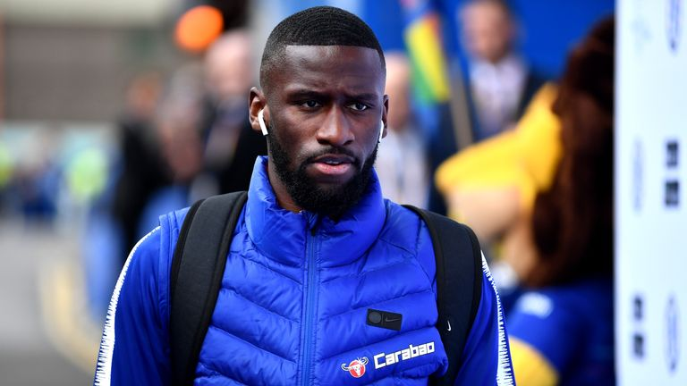 Antonio Rudiger could return for Chelsea
