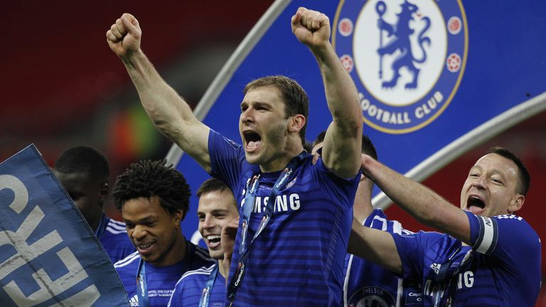 Ivanovic won 10 trophies during his time at Chelsea