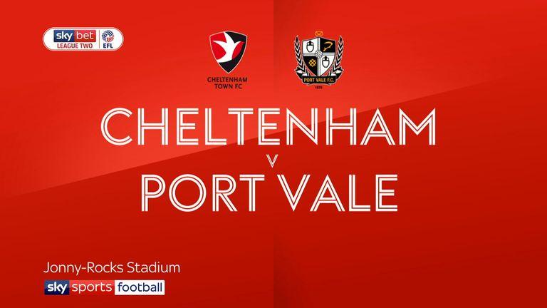 Cheltenham v Port Vale