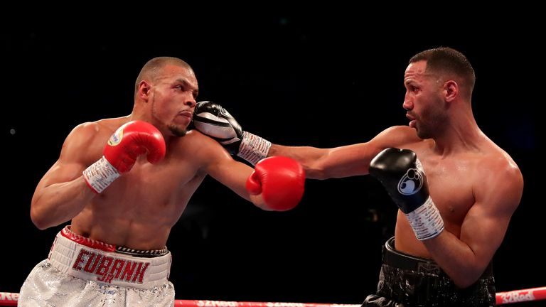 DeGale tried to claw his way back into the fight