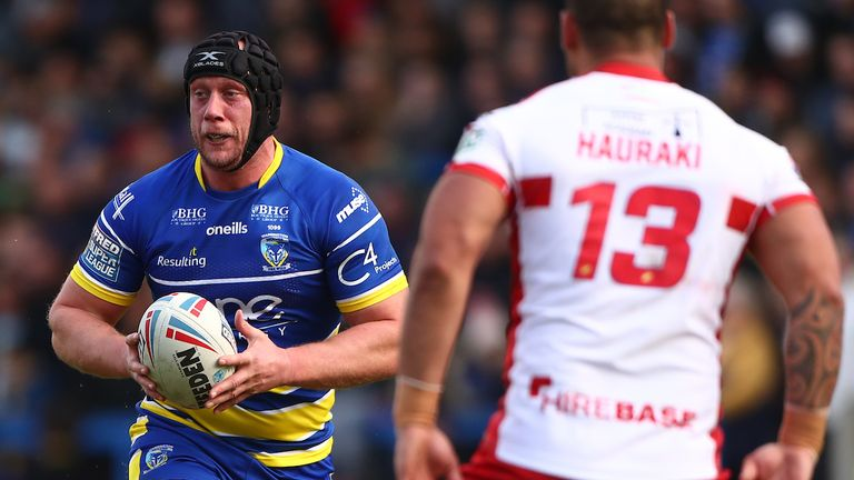 Chris Hill trained like he had a 'point to prove' when he arrived at Warrington Wolves