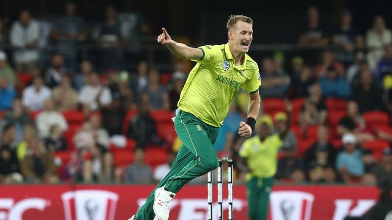 Chris Morris has been left out of South Africa's World Cup squad