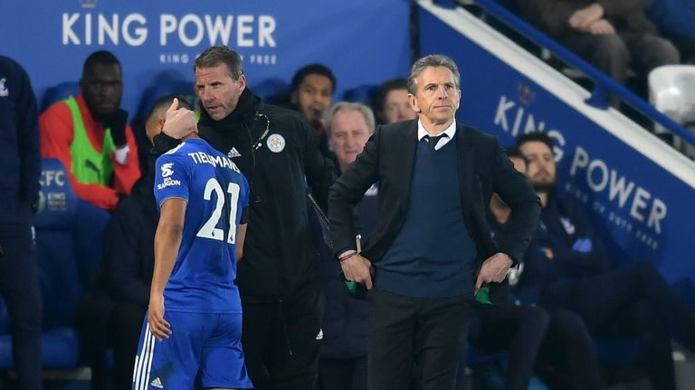 Claude Puel hopes for Leicester fans to back him and the team