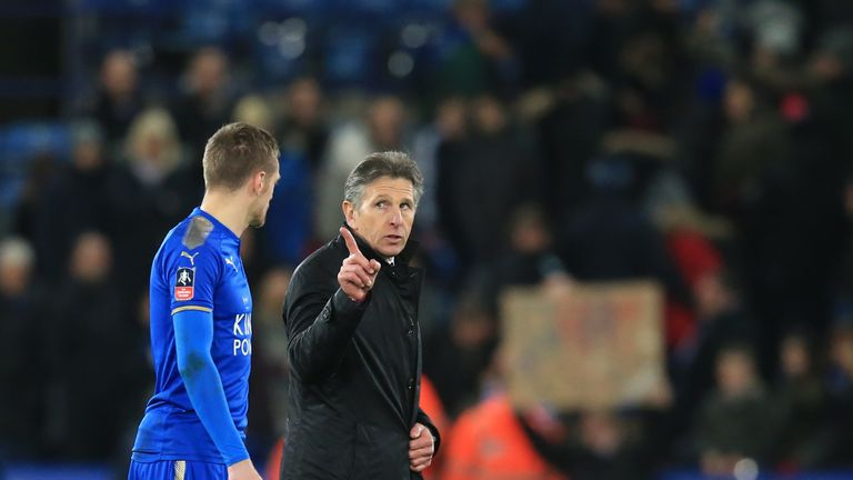 Jamie Vardy didn't feel his game was suited to Claude Puel's system at Leicester