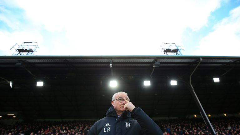 Fulham sit 19th in the Premier League, seven points from safety