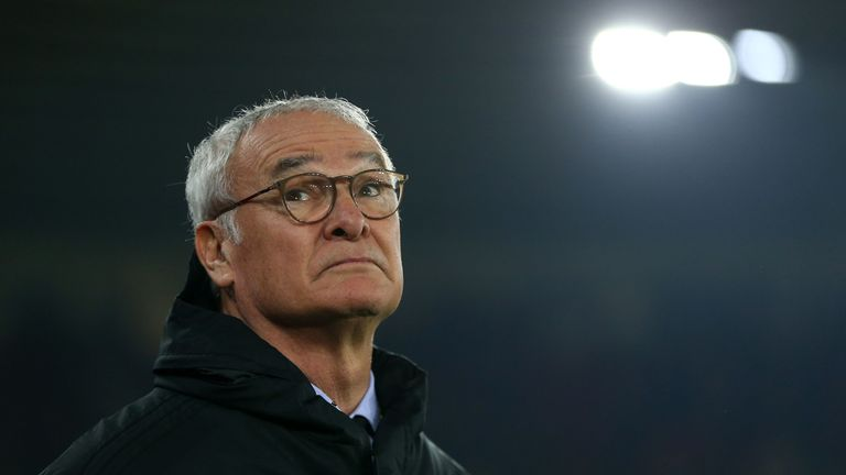 Claudio Ranieri during the Premier League match between Southampton and Fulham at St Mary's Stadium on February 27, 2019