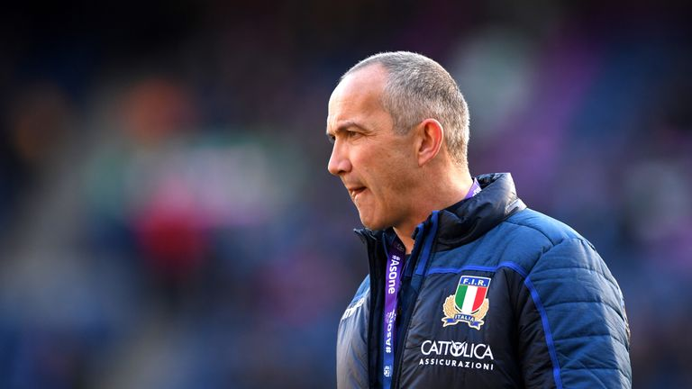 Conor O'Shea has been in charge of Italy since 2016