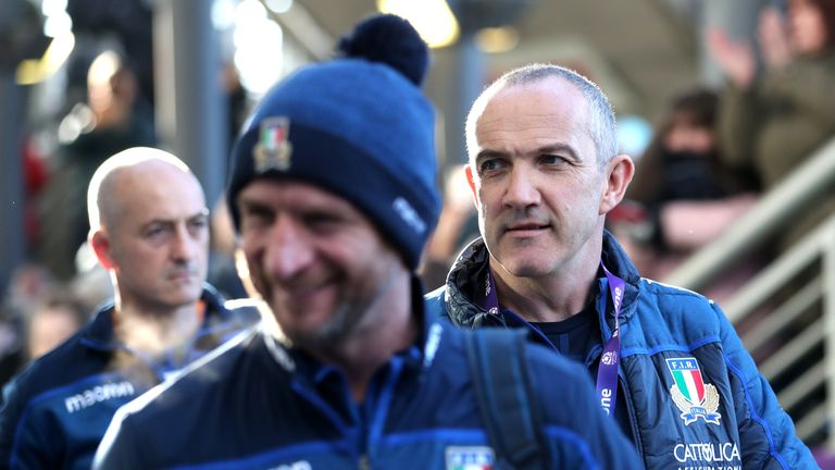 Italy head coach Conor O'Shea took positives from his side's defeat in Scotland