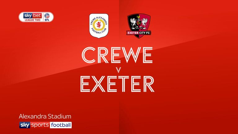 Crewe vs Exeter preview