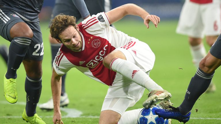 Charlie Nicholas feels Daley Blind adds vital experience to Ajax's backline