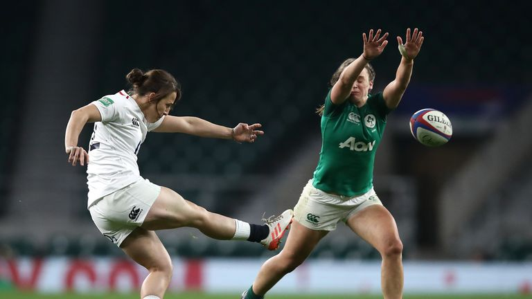Kicking at the highest level of the women's game is not to a high standard - the Six Nations has shown that