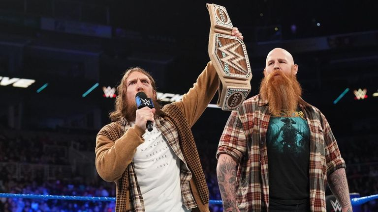 Daniel Bryan faces Jeff Hardy in a non-title match on SmackDown tonight