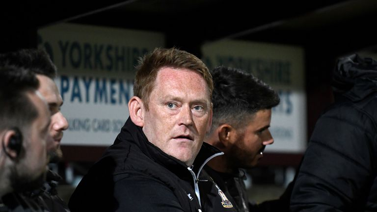 Hopkin leaves Bradford with the club 23rd in Sky Bet League One and three points from safety