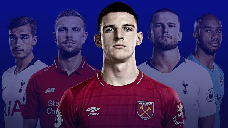 Declan Rice's decision to switch allegiances to England increases the competition in defensive midfield