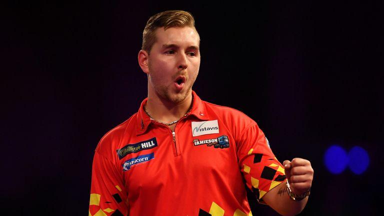 Dimitri van den Bergh is one of the nine contenders in this year's Premier League