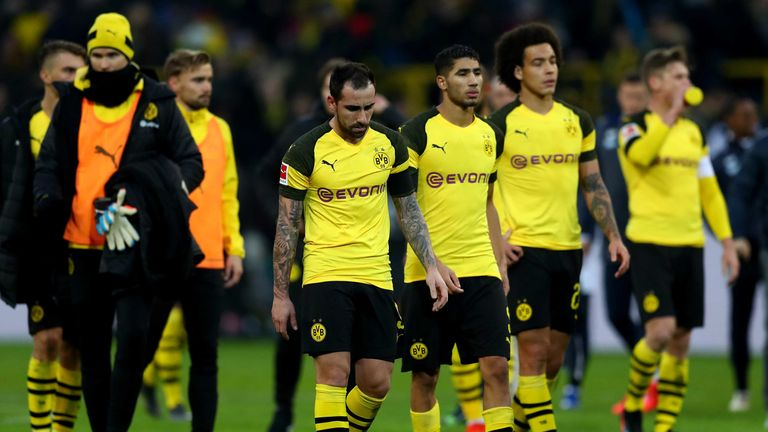 Borussia Dortmund's players have come under scrutiny from the German media following the loss to Tottenham