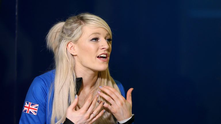 Ex-Sky Sports Scholar Elise Christie is back on the podium after a turbulent year