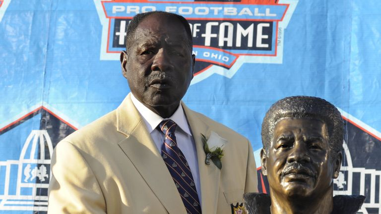 Emmitt Thomas was inducted into the NFL Hall of Fame in 2008