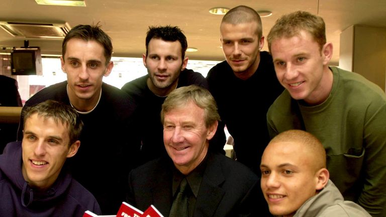 Harrison was in charge of the Manchester United's academy when it produced the Class of '92
