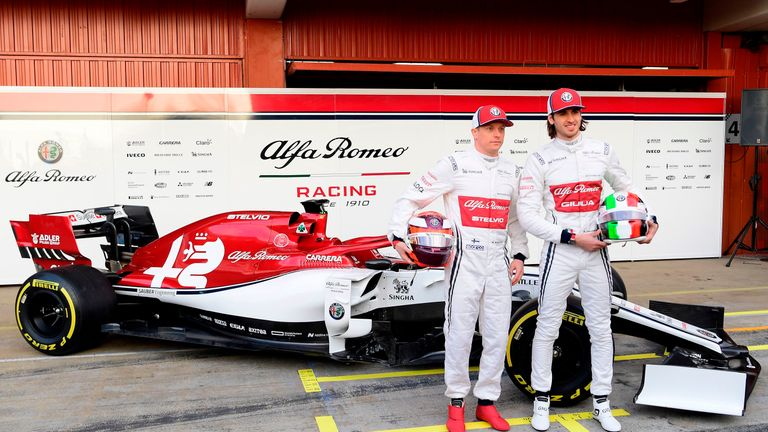 F1 Testing: Alfa Romeo reveal new livery and car, the C38 | F1 News