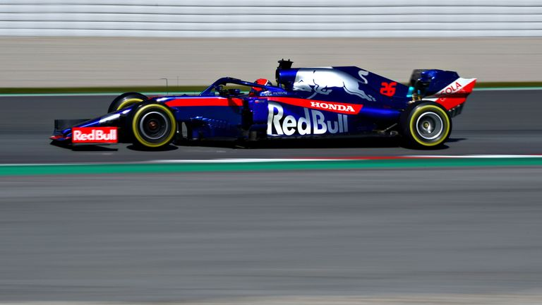 Daniil Kvyat enjoyed an encouraging return to F1, within a tenth of the Red Bull.